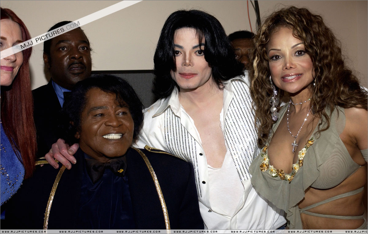Michael Jackson headlined a throng of fans, friends and family who ...