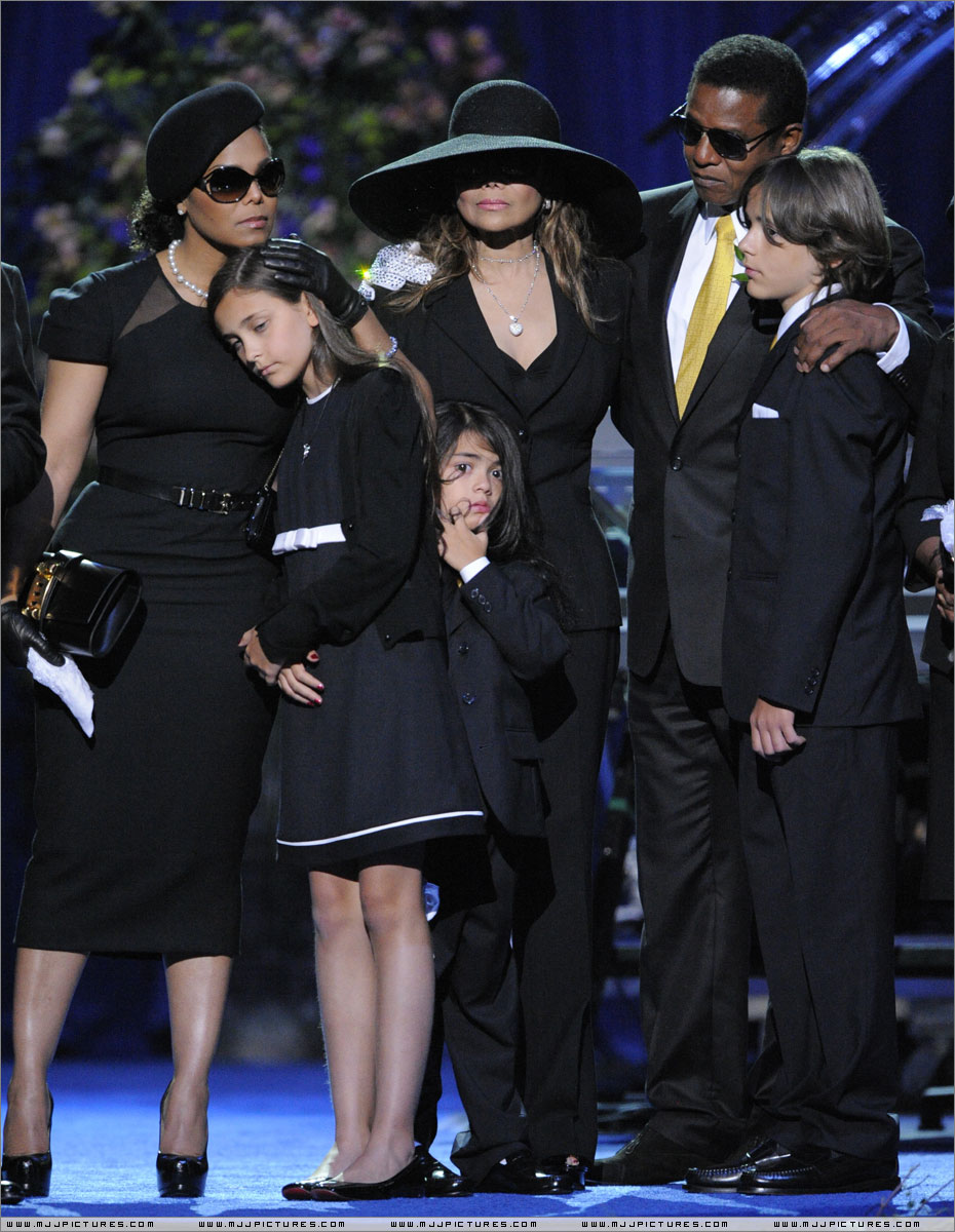 Michael Jackson Ethnicity of Celebs What Nationality Michael jackson funeral pictures children
